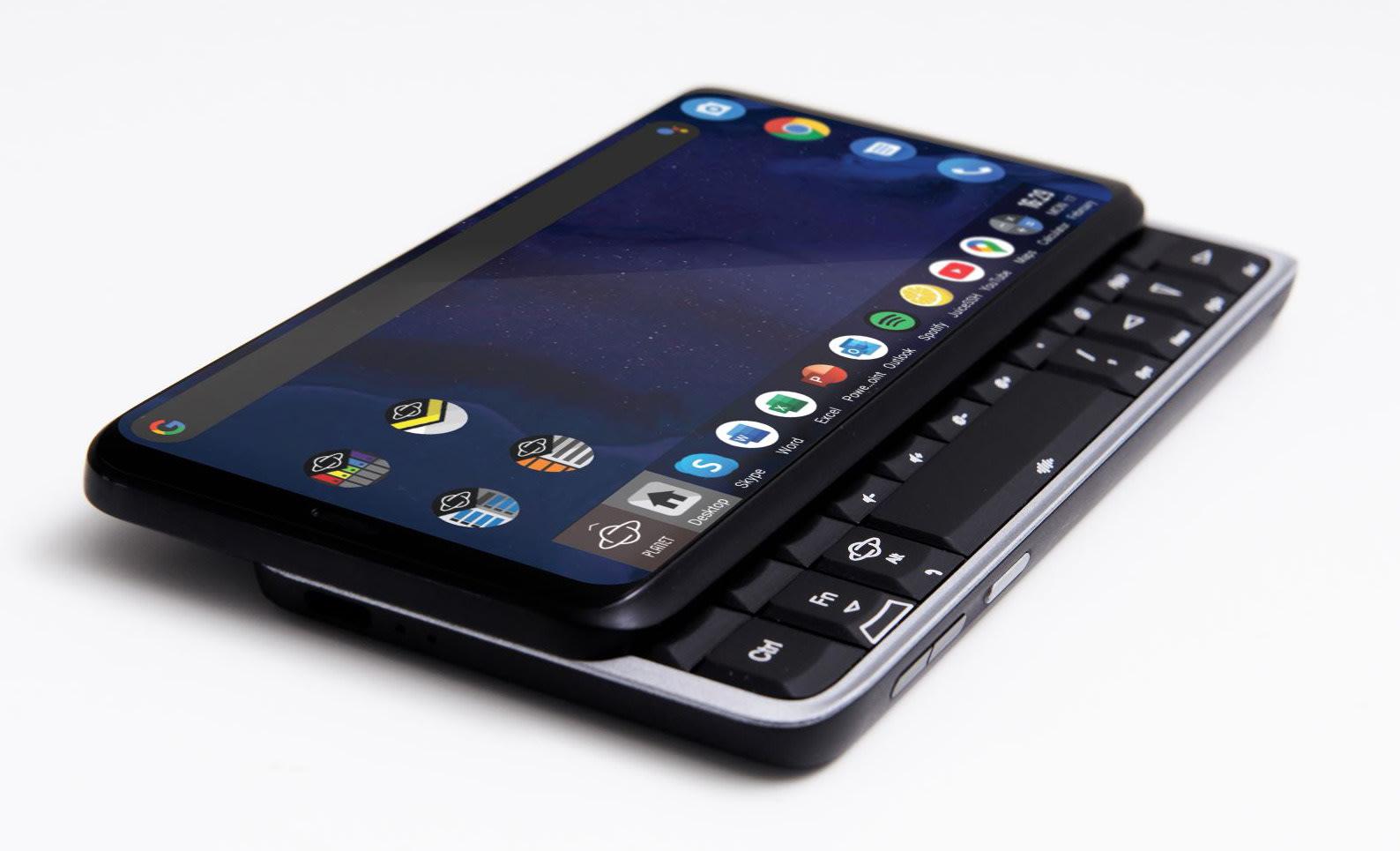 Planet computers astro slide smartphone