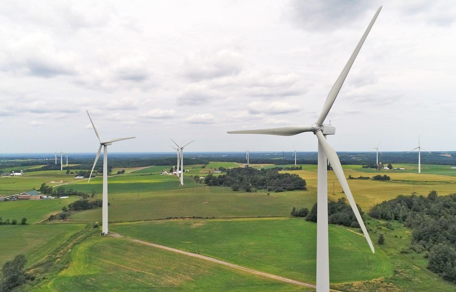 Wind Farm New York