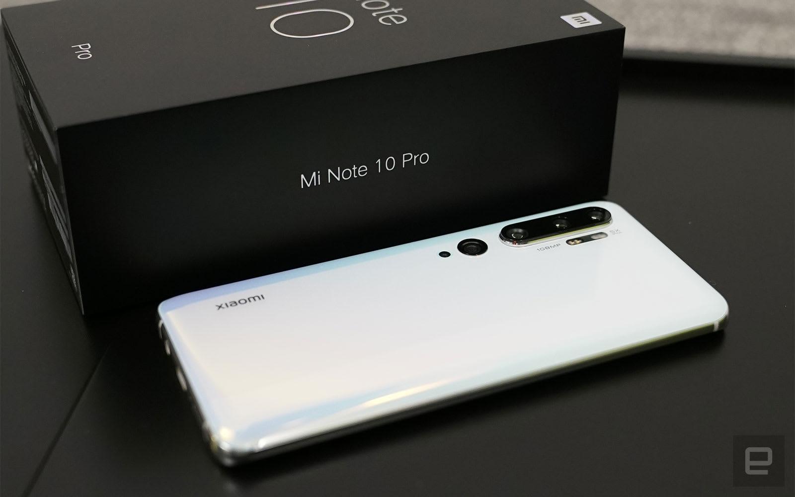 小米 Note 10 Pro 評測