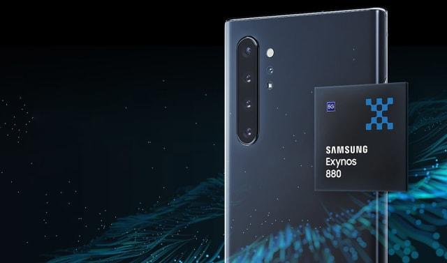 Samsung Exynos 880 processor