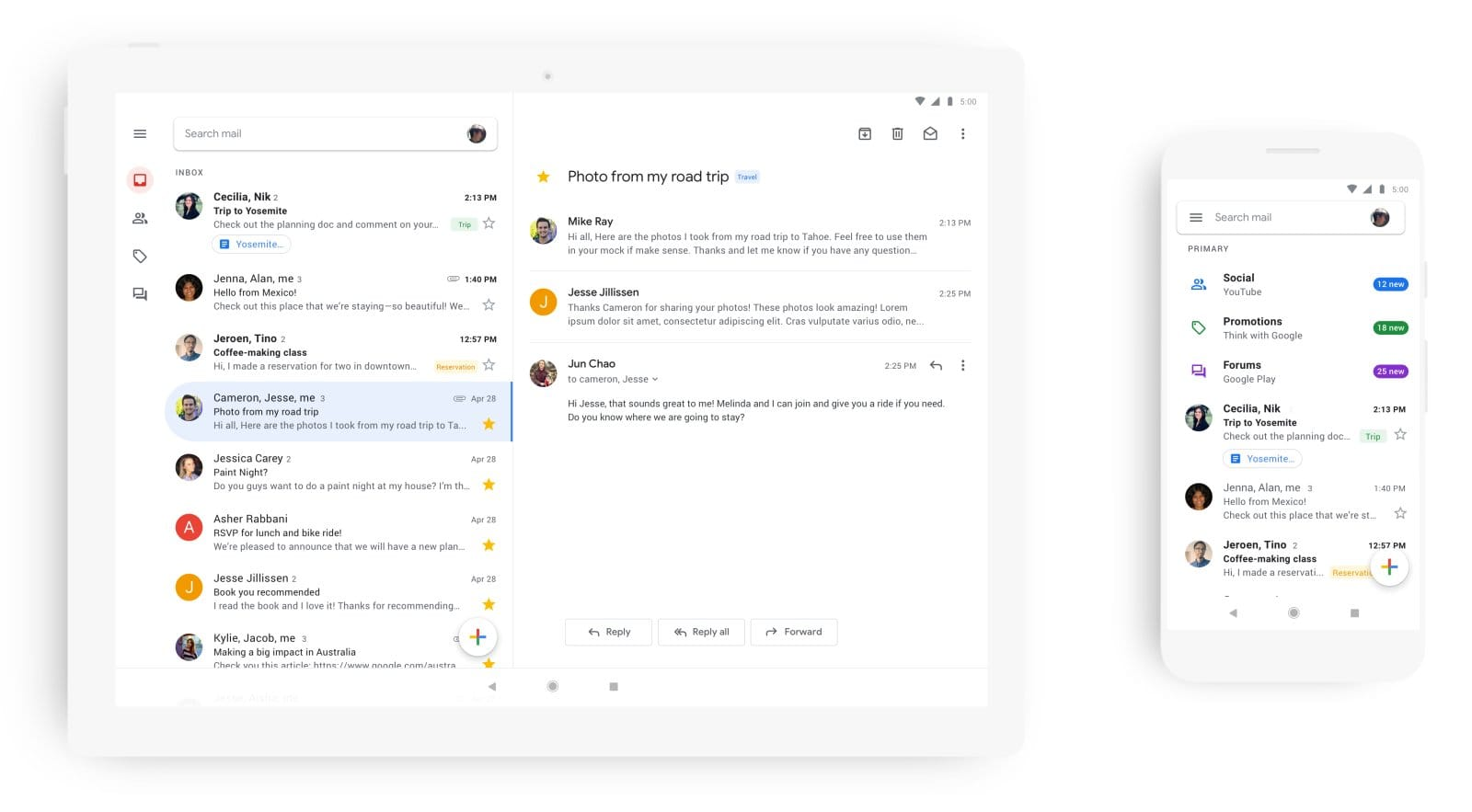 Google Gmail for Mobile