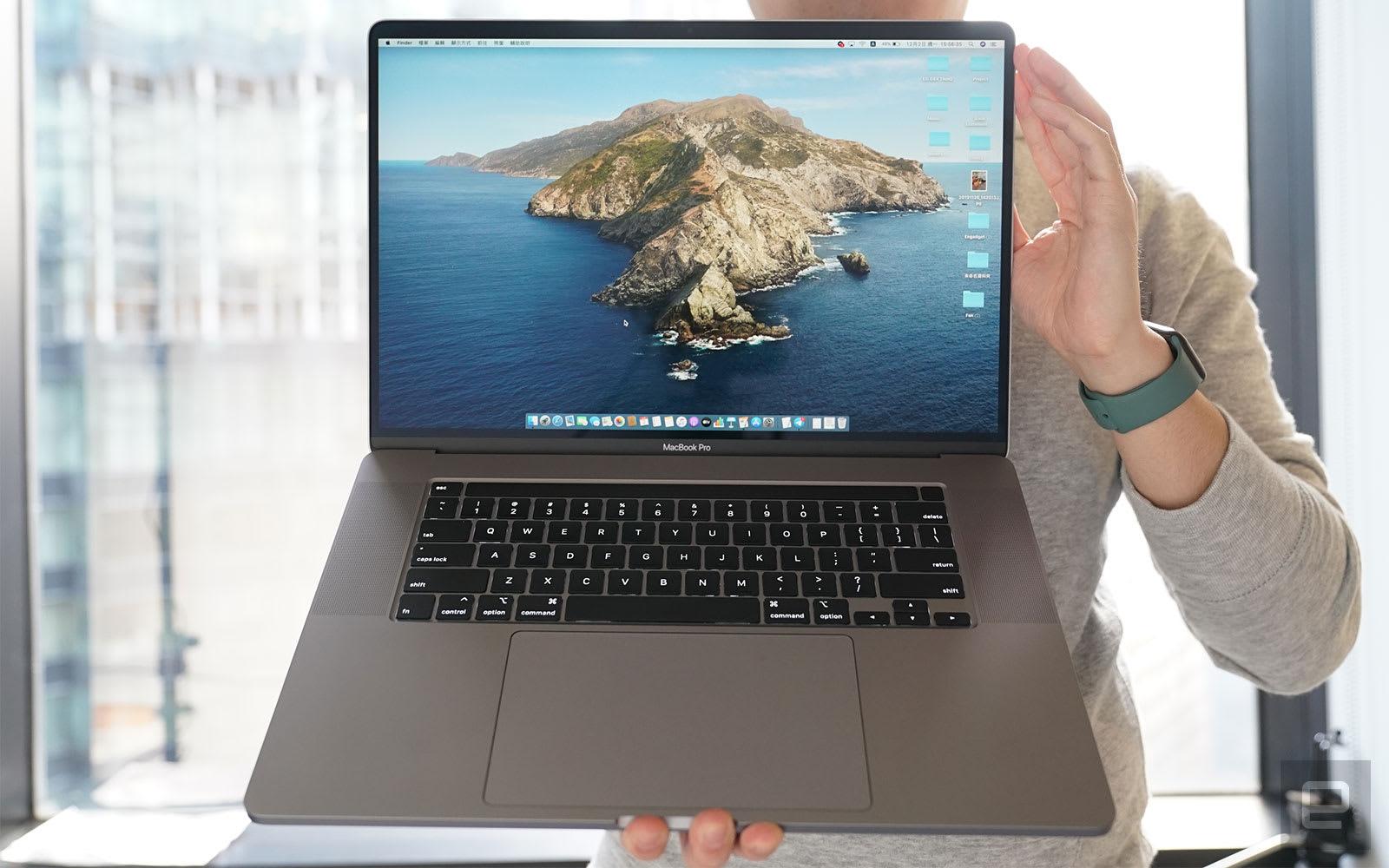 MacBook Pro 16 吋評測