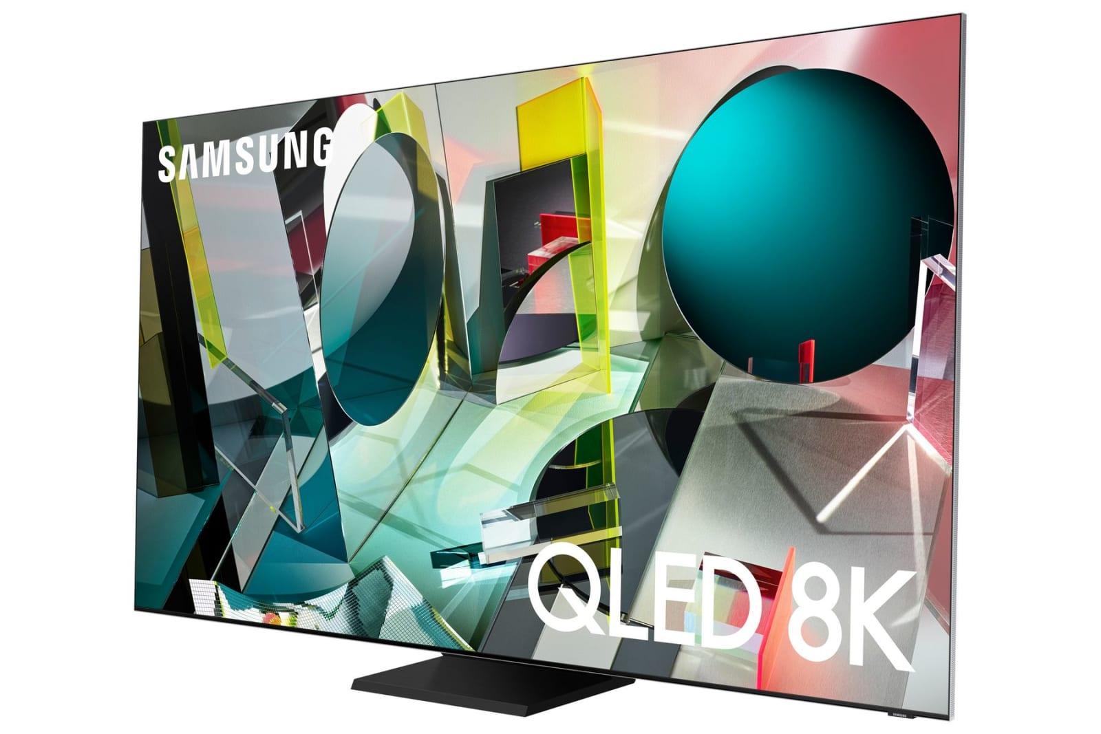 Samsung 4K 8K QLED TVs 2020