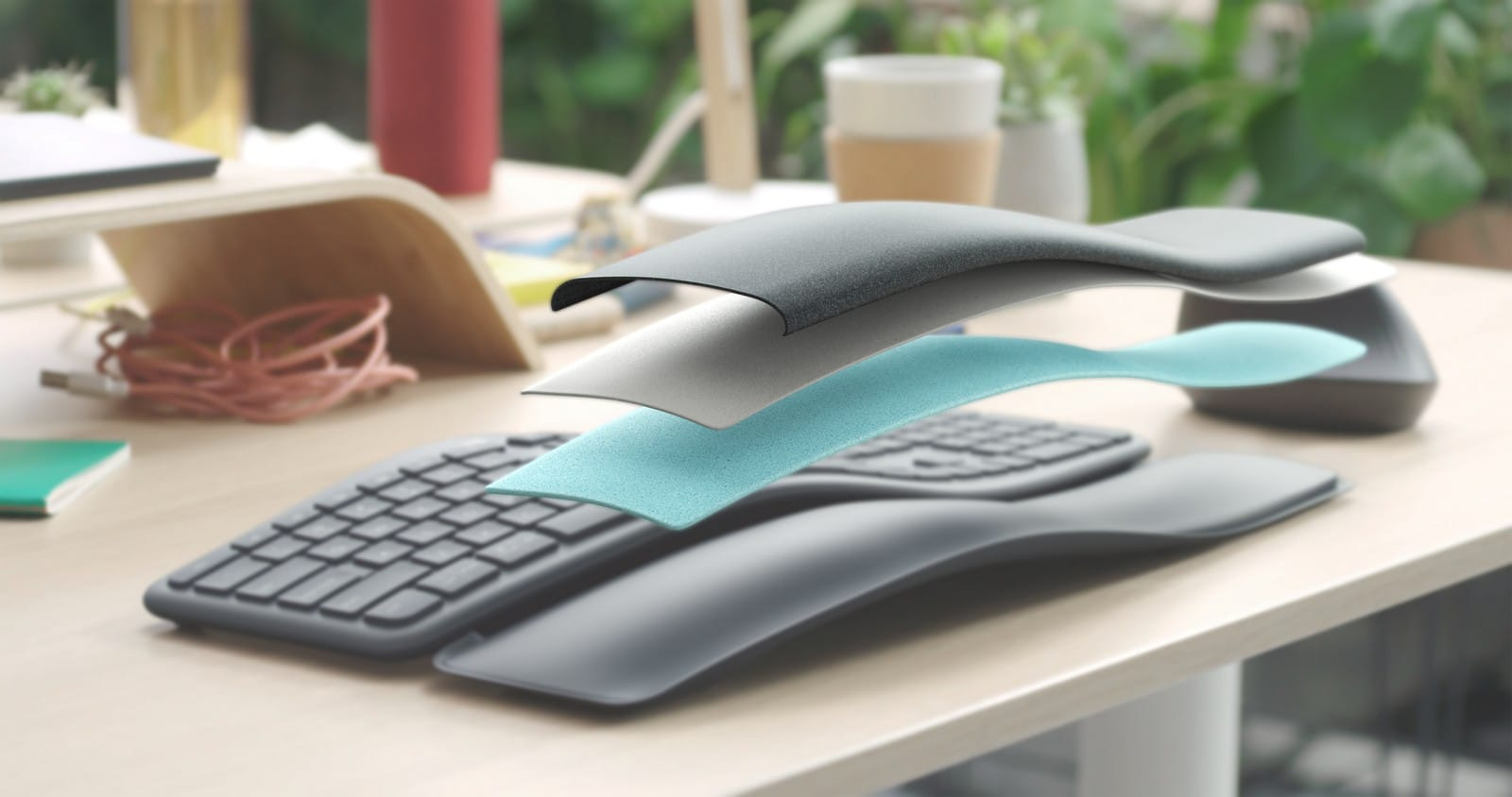 Logitech K860 Split Ergonomic Keyboard