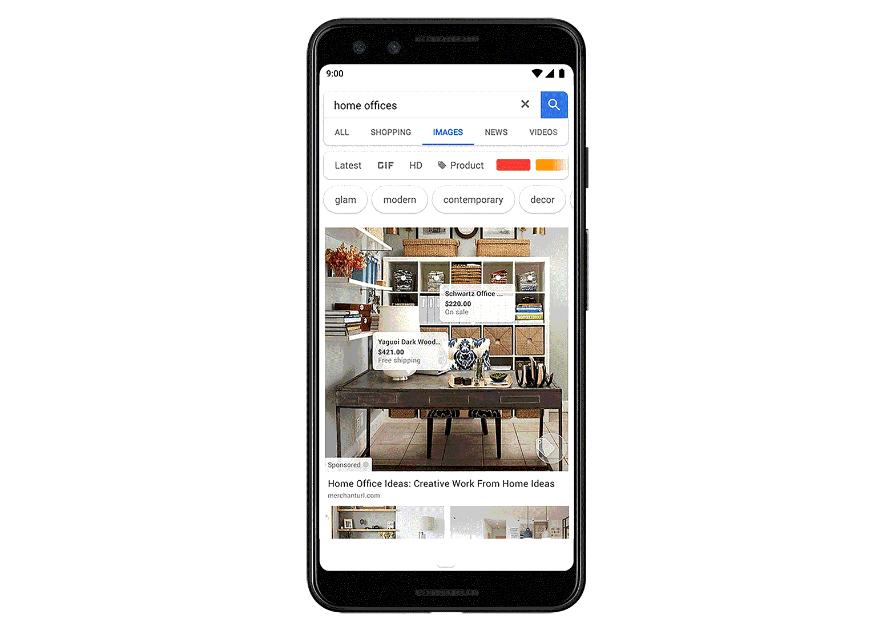 Showcase Shopping ads to Google Images