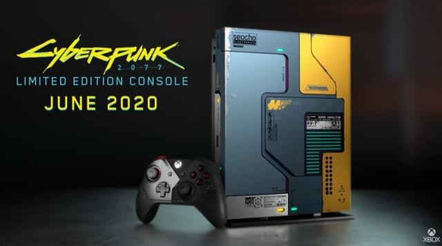 Cyberpunk 2077 Limited Edition Xbox One X