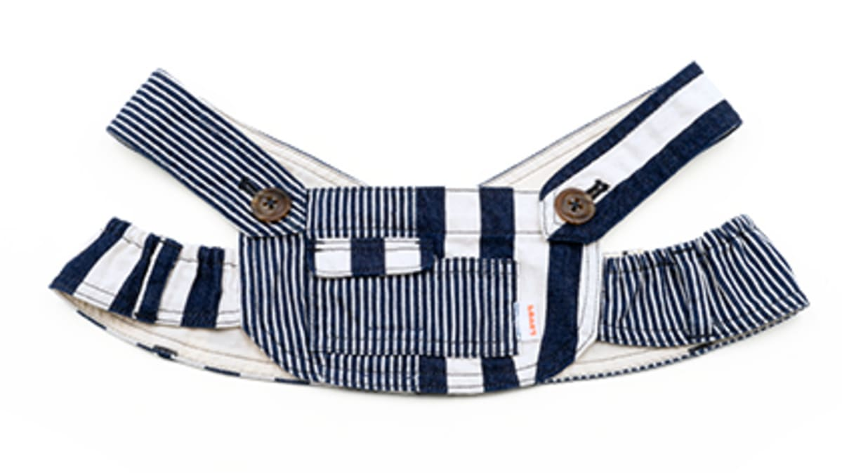 LOVOT denim overalls onepiece