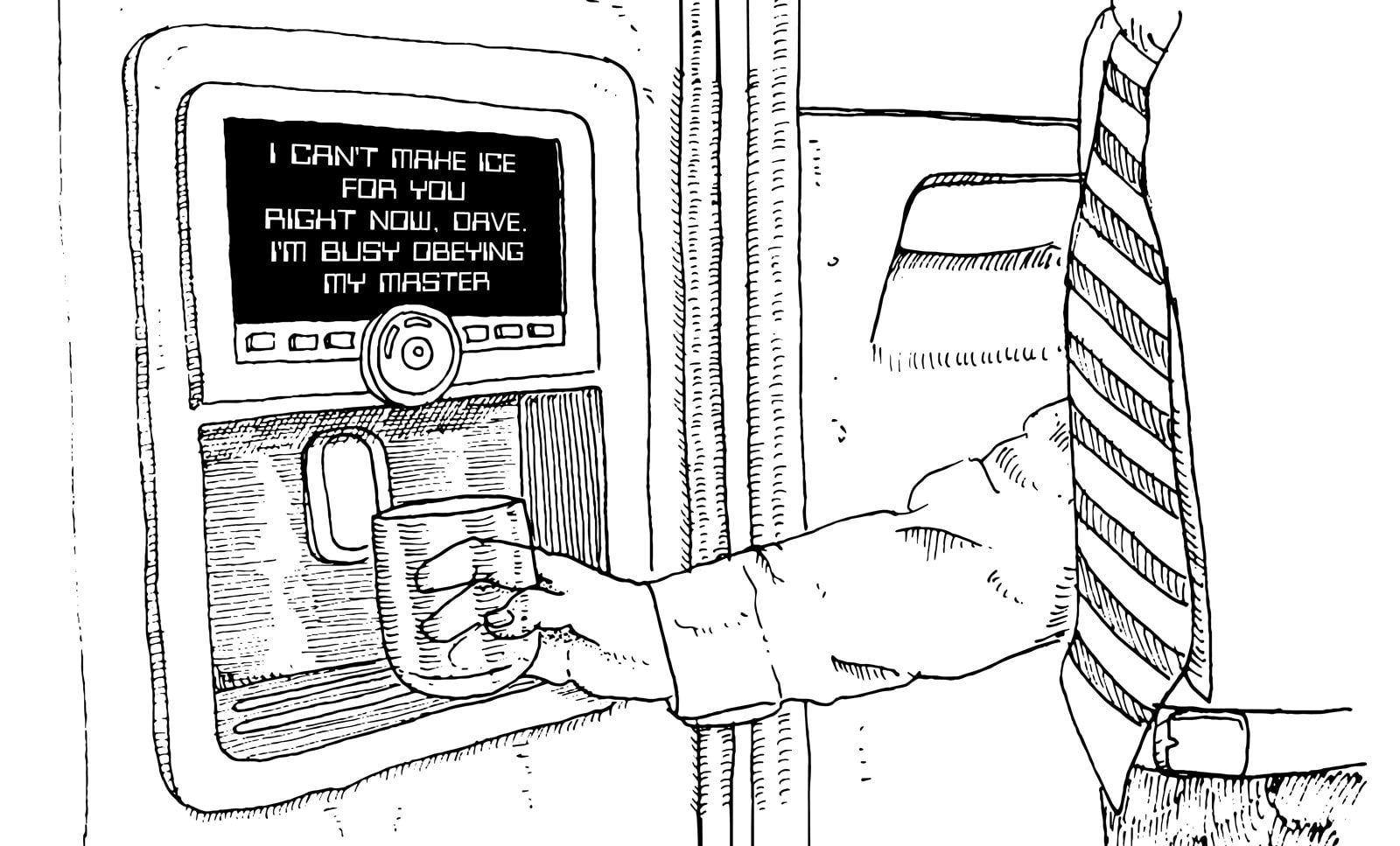 Rebellious refrigerator