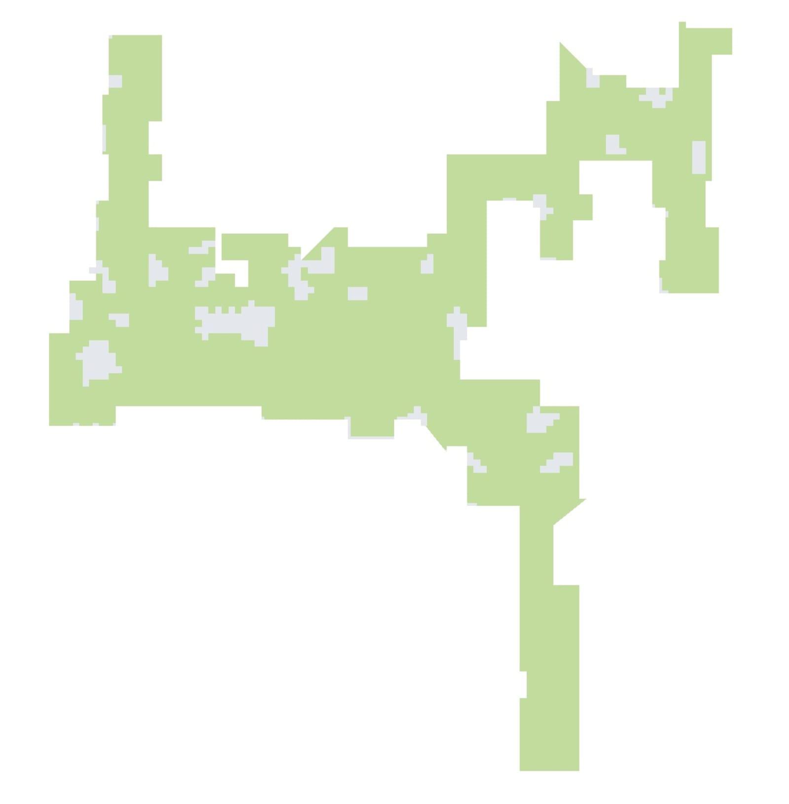 iRobot Roomba floormap