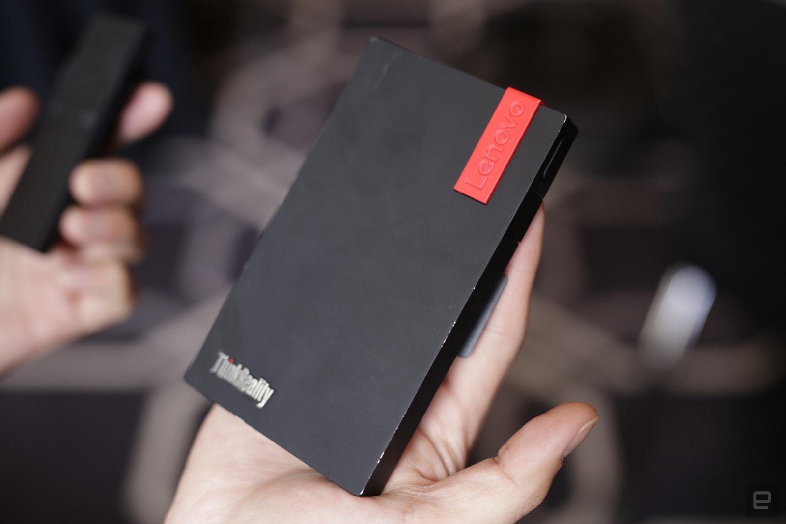 Lenovo ThinkReality AR headset