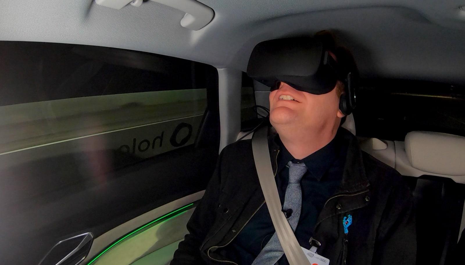 Audi / Holoride VR
