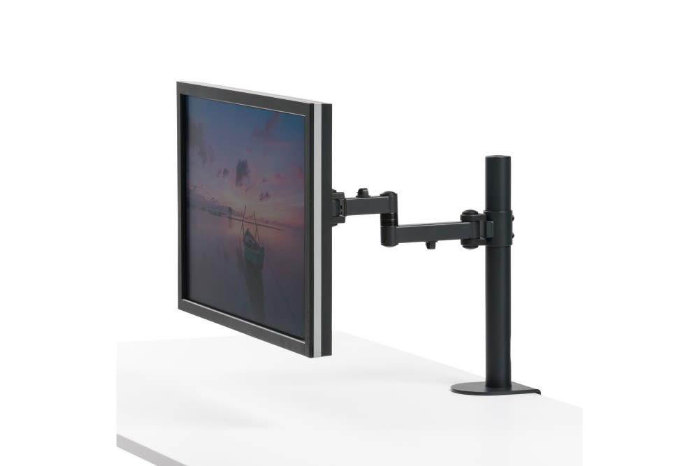 Sanwa Monitor Arm CR-LA1701BK Top Image