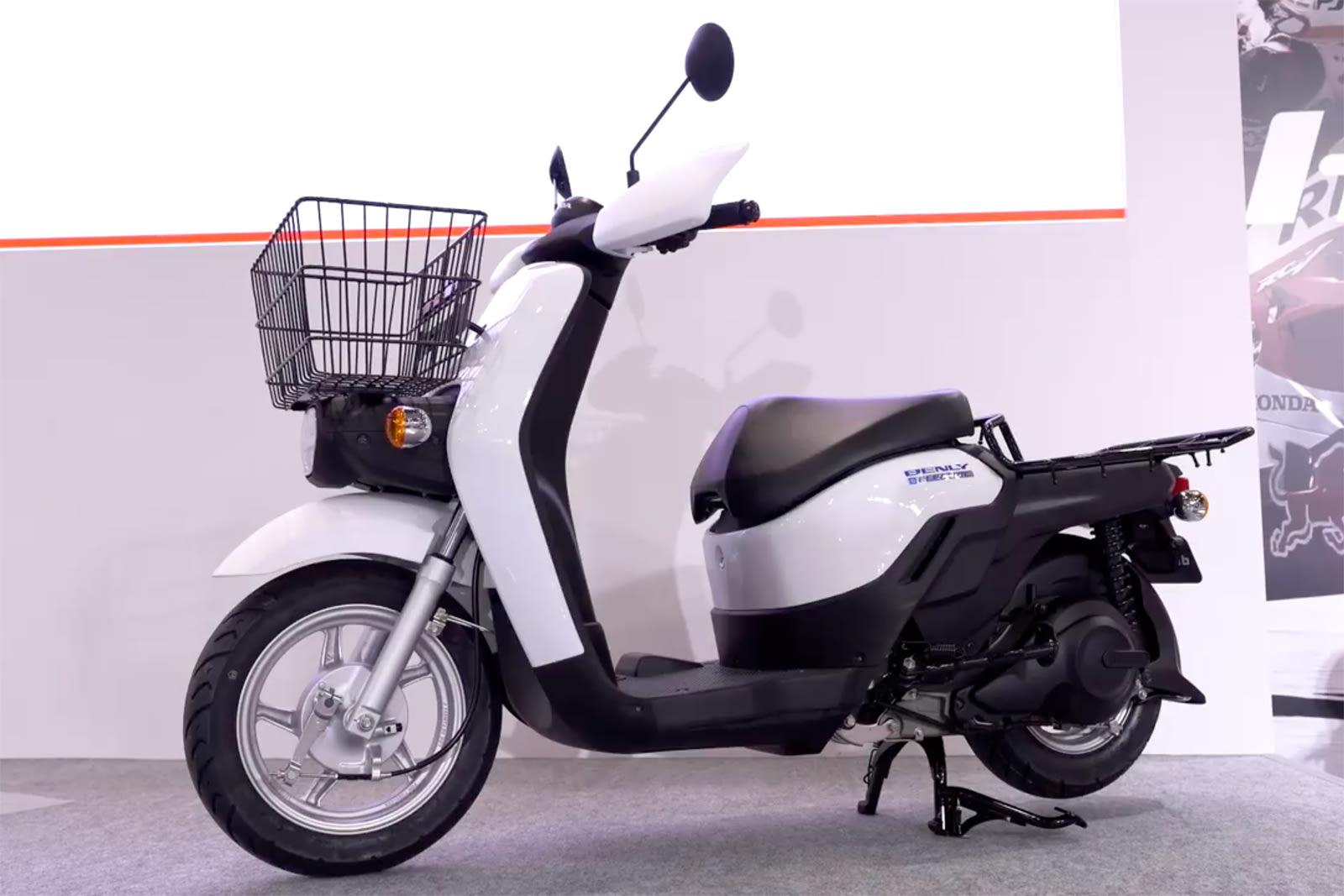 Honda Benly Electric scooter prototype