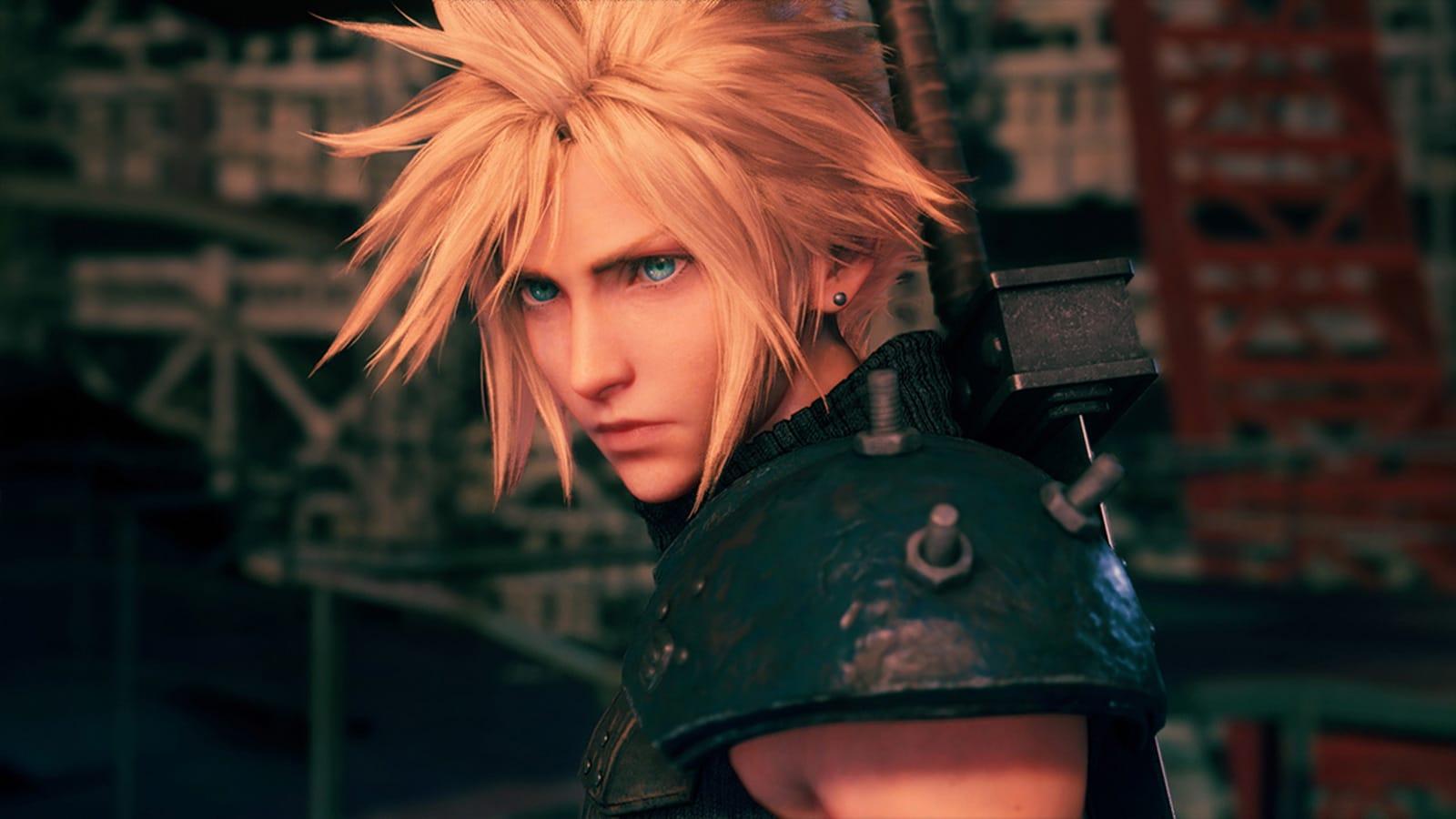 Cloud in 'Final Fantasy VII Remake'