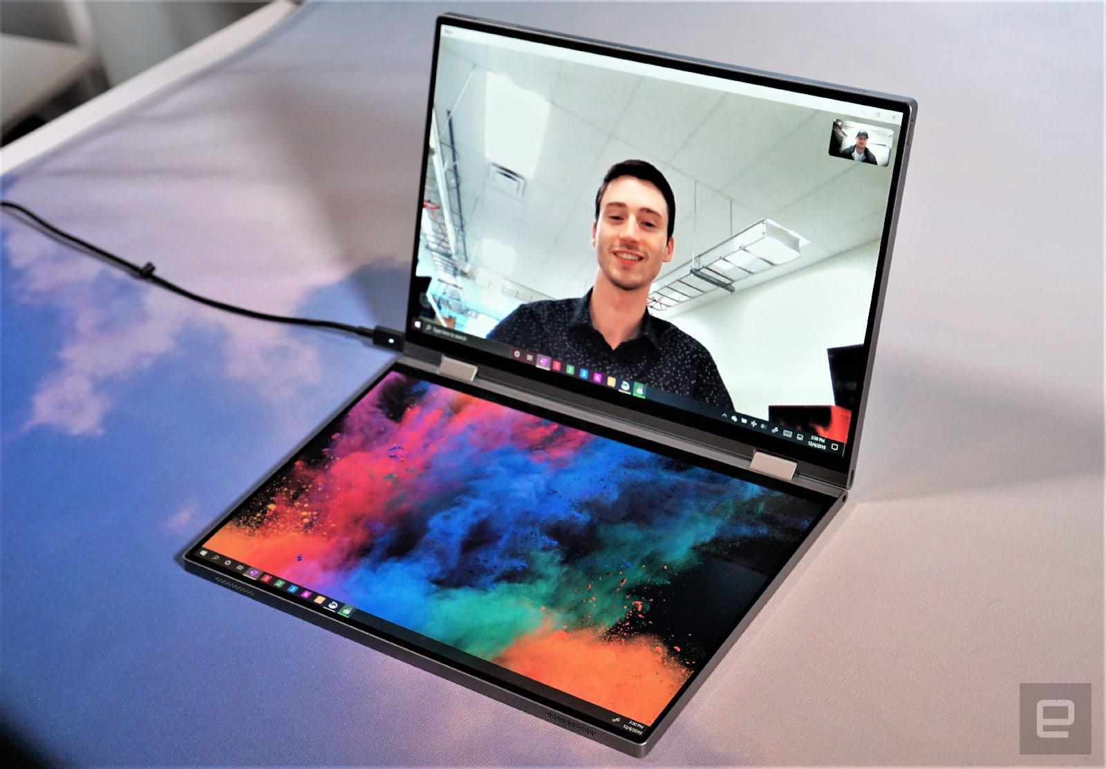 """Dell """"Concept Duet"""" dual-screen laptop hands-on"""