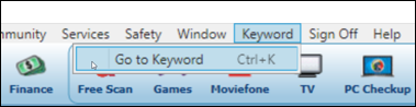 Go To Keyword