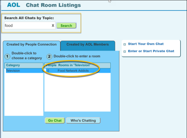 aol com chat rooms