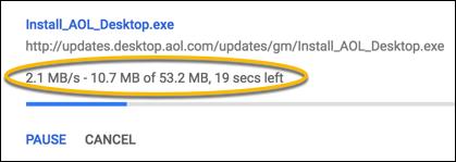 Chrome-Download-Liste