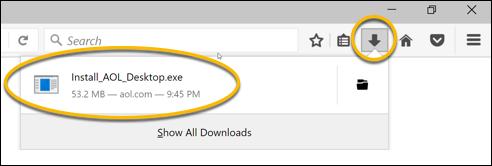 Firefox-Download-Liste