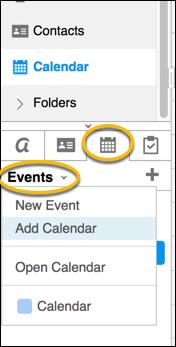 create calendar