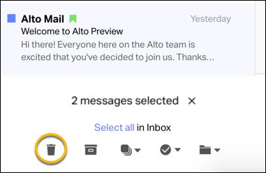 Alto Move Message