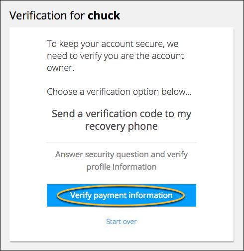 payment verification