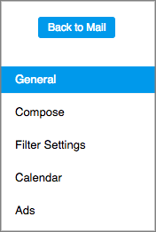 Image of the Mail Settings tab.
