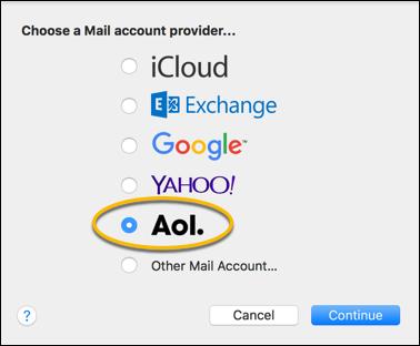 Configure a Verizon net account using IMAP - AOL Help