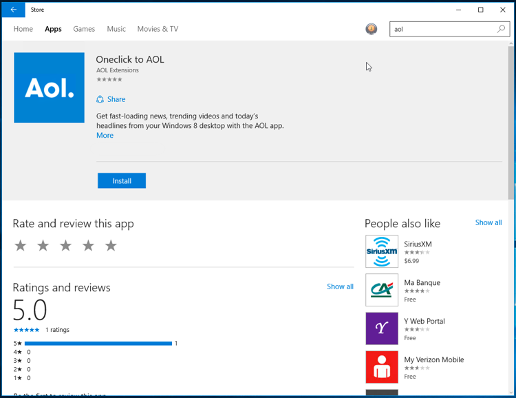 Accessing Aol Sites Or Apps Using Windows 10 Aol Help