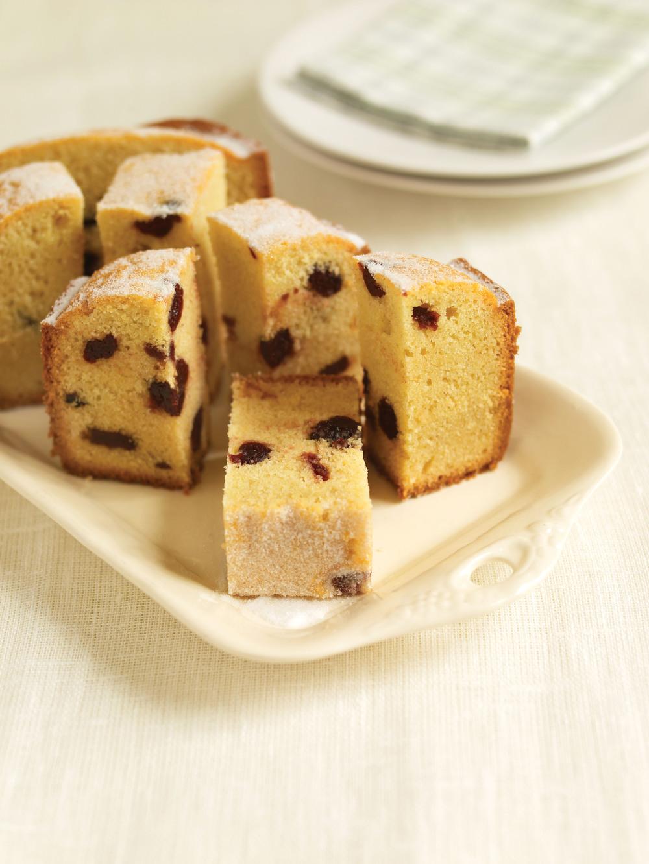Cherry And Almond Madeira Cake Recipe