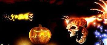 halloween 3d screen saver